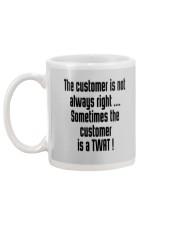 Christmas-thecustomerisnotalwaysright Mug back