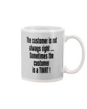 Christmas-thecustomerisnotalwaysright Mug front