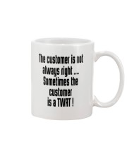 Christmas-thecustomerisnotalwaysright Mug thumbnail