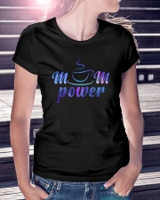Mom Power Ladies T-Shirt thumbnail