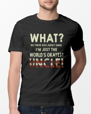 I'm Just The World's Okeyest Uncle Classic T-Shirt lifestyle-mens-crewneck-front-13