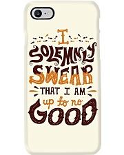 I Am Up To No Good Phone Case i-phone-7-case