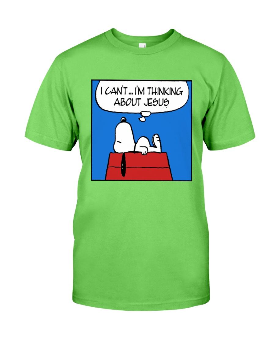I'm Thinking About Jesus Classic T-Shirt