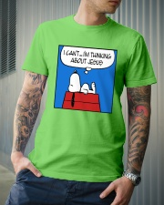 I'm Thinking About Jesus Classic T-Shirt lifestyle-mens-crewneck-front-6