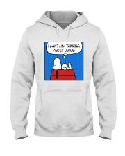 I'm Thinking About Jesus Hooded Sweatshirt thumbnail