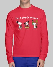 I'm A Simple Woman Long Sleeve Tee lifestyle-unisex-longsleeve-front-1