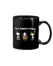 I'm A Simple Woman Mug thumbnail