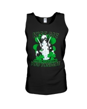 Kiss Me And I'm Touching You Tonight Unisex Tank thumbnail