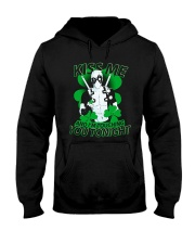 Kiss Me And I'm Touching You Tonight Hooded Sweatshirt thumbnail