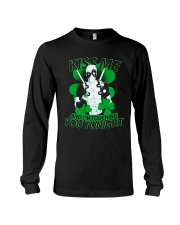 Kiss Me And I'm Touching You Tonight Long Sleeve Tee thumbnail