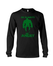 I'm Always Angry Long Sleeve Tee thumbnail