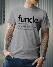 Funcle Definition Classic T-Shirt lifestyle-mens-crewneck-front-6