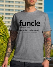 Funcle Definition Classic T-Shirt lifestyle-mens-crewneck-front-8
