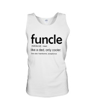 Funcle Definition Unisex Tank thumbnail