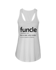 Funcle Definition Ladies Flowy Tank thumbnail