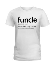 Funcle Definition Ladies T-Shirt thumbnail
