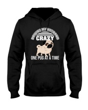 One Pug At A Time Hooded Sweatshirt tile
