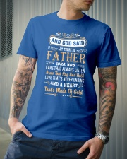 Let There Be Father Classic T-Shirt lifestyle-mens-crewneck-front-6
