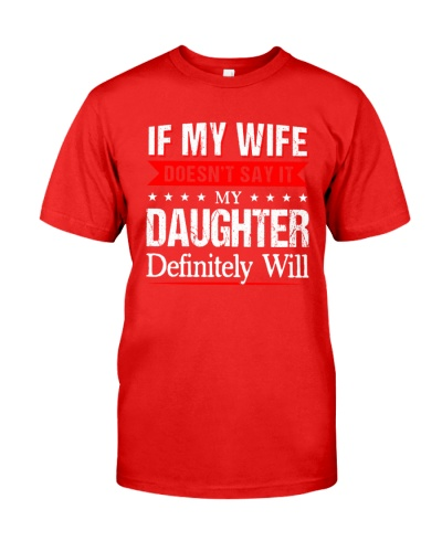 If My Wife Doesn't Say It