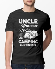 Uncle And Nephew Camping Partners For Life Classic T-Shirt lifestyle-mens-crewneck-front-13