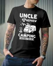 Uncle And Nephew Camping Partners For Life Classic T-Shirt lifestyle-mens-crewneck-front-6