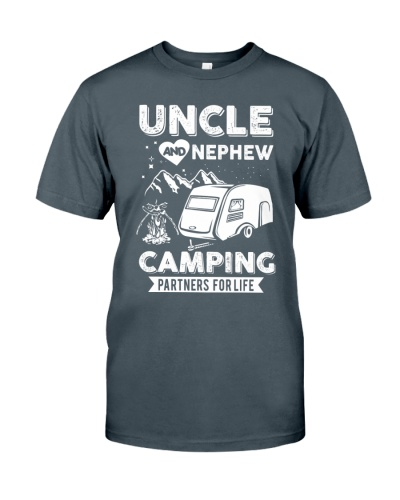 Uncle And Nephew Camping Partners For Life