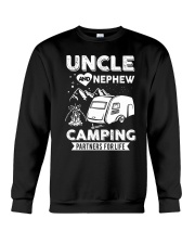 Uncle And Nephew Camping Partners For Life Crewneck Sweatshirt thumbnail