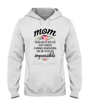 Your Love Is The Fuel Hooded Sweatshirt thumbnail