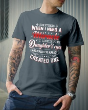 Sometimes When I Need A Miracle Classic T-Shirt lifestyle-mens-crewneck-front-6