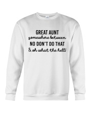Great Aunt Crewneck Sweatshirt thumbnail