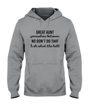 Great Aunt Hooded Sweatshirt thumbnail