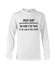 Great Aunt Long Sleeve Tee thumbnail