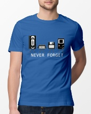 NEVER FORGET Classic T-Shirt lifestyle-mens-crewneck-front-13