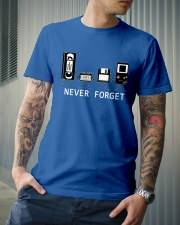 NEVER FORGET Classic T-Shirt lifestyle-mens-crewneck-front-6