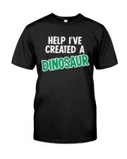 Help I Created A Dinosaur Classic T-Shirt thumbnail
