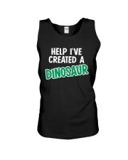 Help I Created A Dinosaur Unisex Tank thumbnail