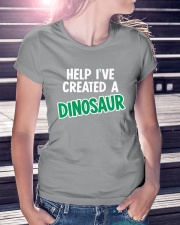 Help I Created A Dinosaur Ladies T-Shirt lifestyle-women-crewneck-front-7