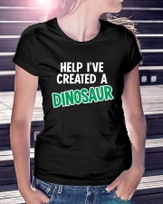 Help I Created A Dinosaur Ladies T-Shirt lifestyle-women-crewneck-front-7