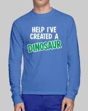 Help I Created A Dinosaur Long Sleeve Tee lifestyle-unisex-longsleeve-front-1