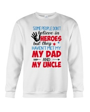 Some People Don't Believe In Heroes Crewneck Sweatshirt thumbnail
