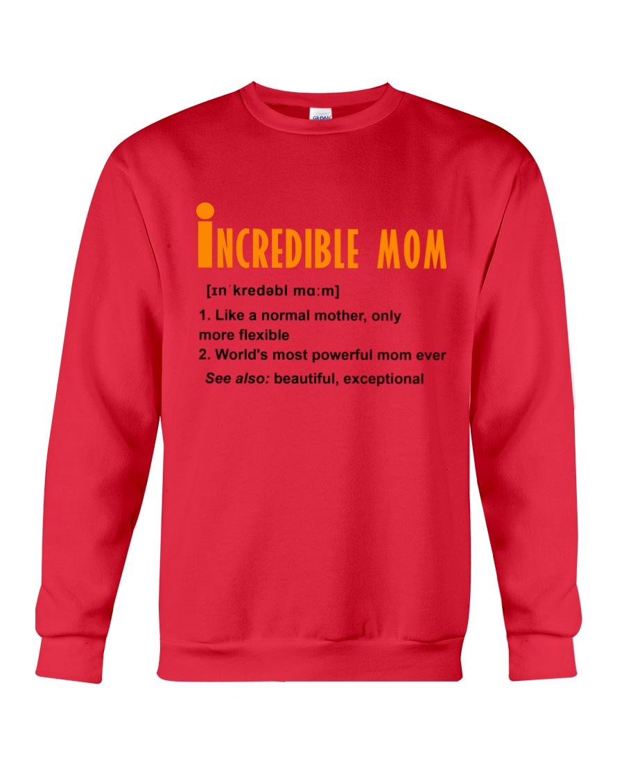 Powerful Mom Crewneck Sweatshirt