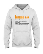 Powerful Mom Hooded Sweatshirt thumbnail