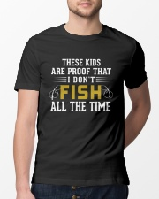 Proof That I Don't Fish All The Time Classic T-Shirt lifestyle-mens-crewneck-front-13