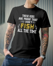 Proof That I Don't Fish All The Time Classic T-Shirt lifestyle-mens-crewneck-front-6