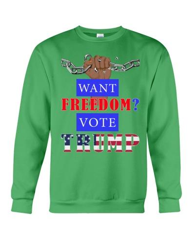 Macrolid 2D Want Freedom Vote Trump