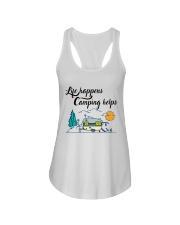 Life Happens Camping Helps Ladies Flowy Tank thumbnail