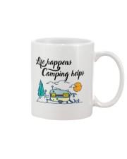 Life Happens Camping Helps Mug thumbnail