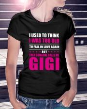 Someone Calls Me Gigi Ladies T-Shirt lifestyle-women-crewneck-front-7