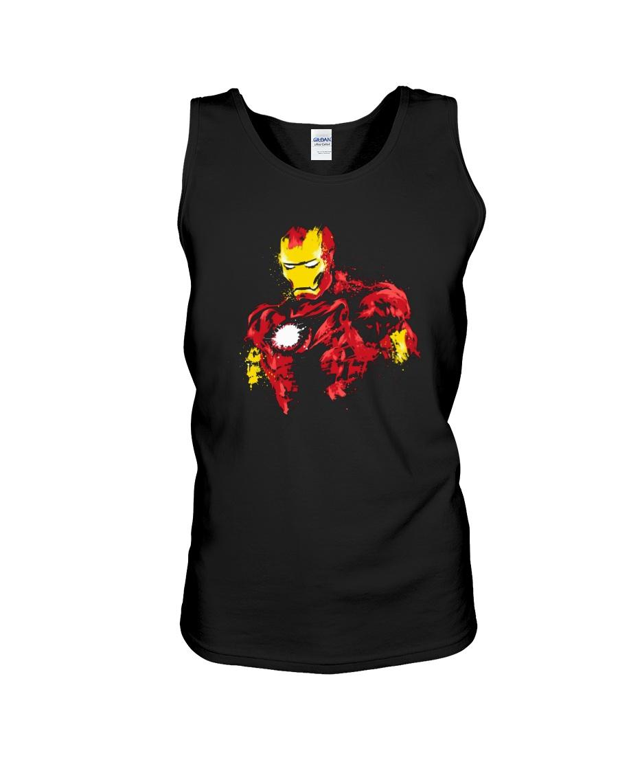 Man Of Iron Unisex Tank