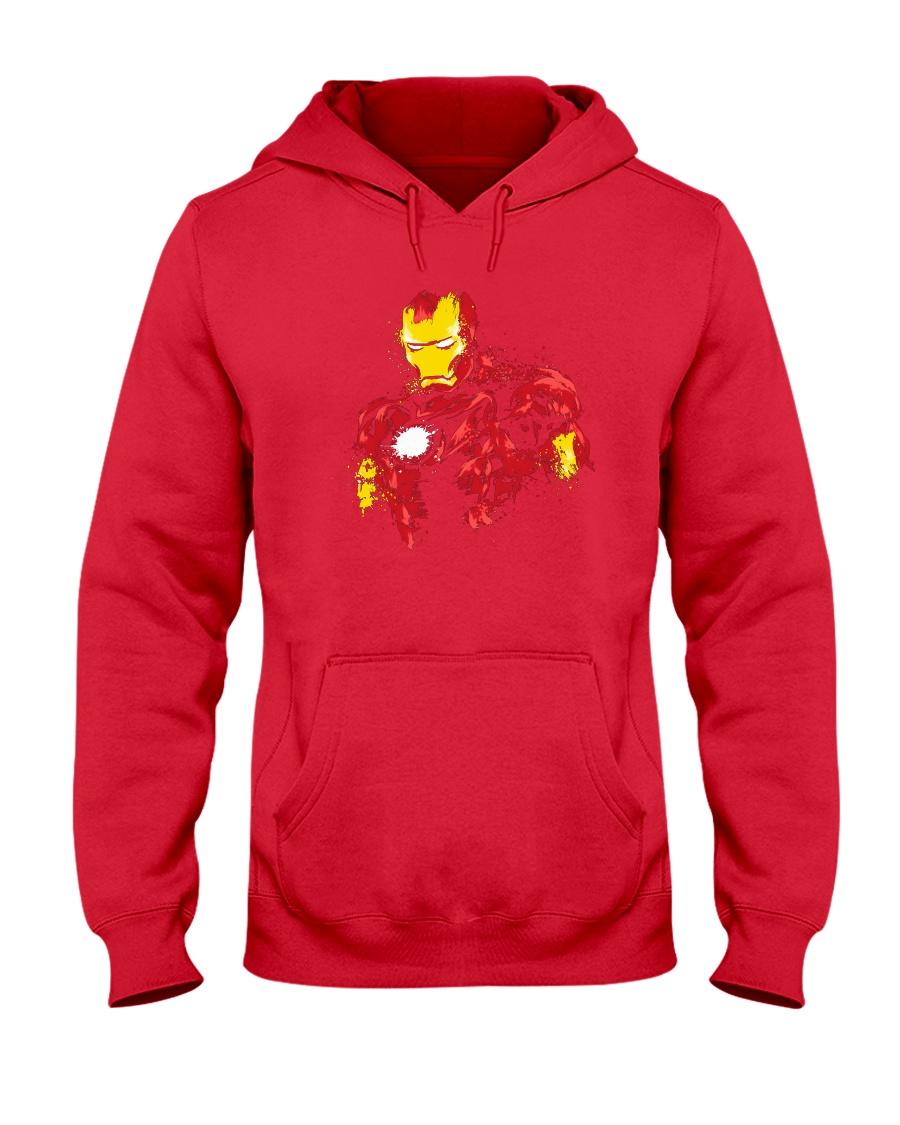 Man Of Iron Hooded Sweatshirt